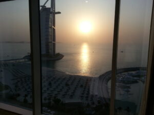 jumeira beach hotel view