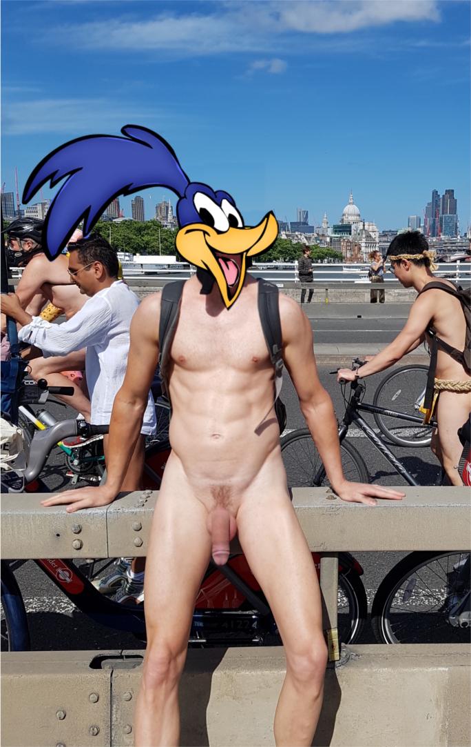 naked bikeride