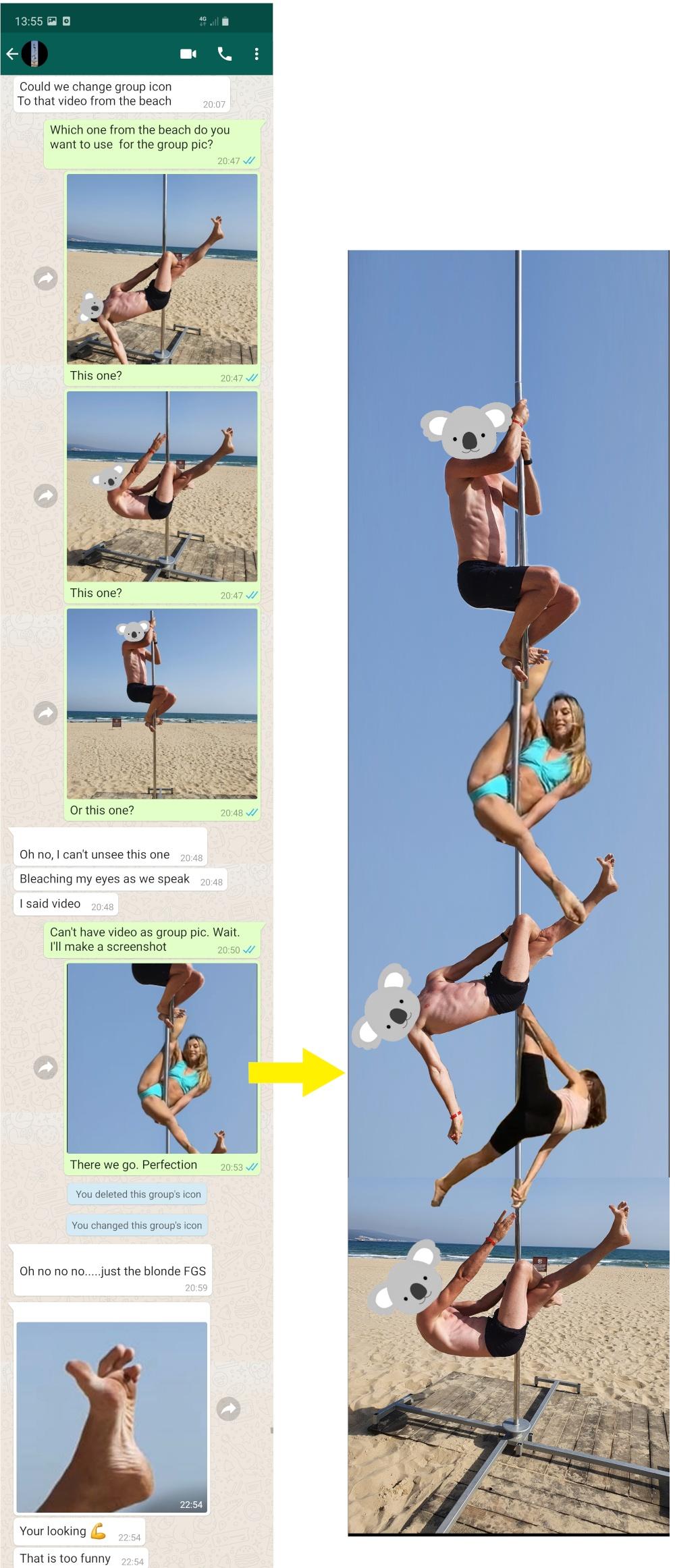 Sunny Beach Poledancing